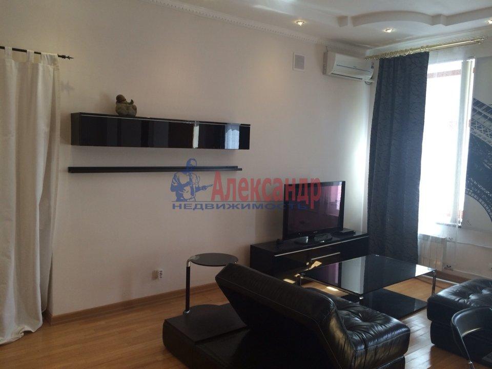 2-комнатная квартира (70м2) в аренду по адресу Адмиралтейская наб., 10— фото 2 из 13