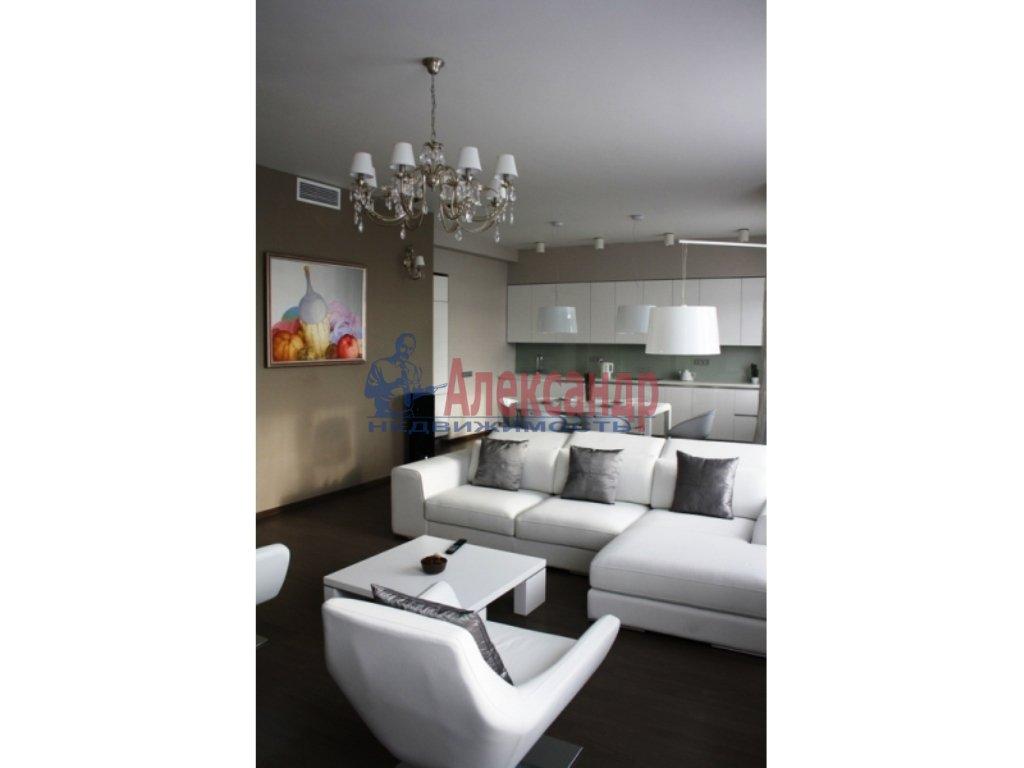3-комнатная квартира (112м2) в аренду по адресу Каменноостровский пр.— фото 8 из 20