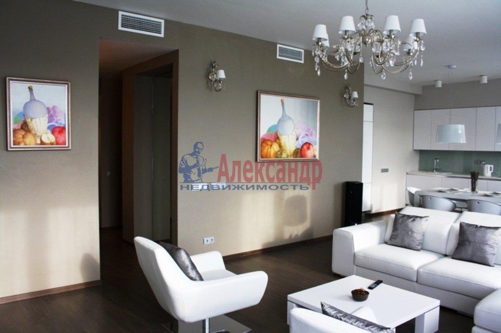 3-комнатная квартира (112м2) в аренду по адресу Каменноостровский пр.— фото 9 из 20