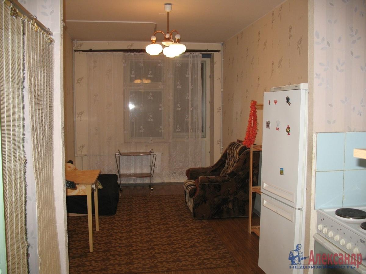 1-комнатная квартира (40м2) в аренду по адресу Коллонтай ул.— фото 1 из 4