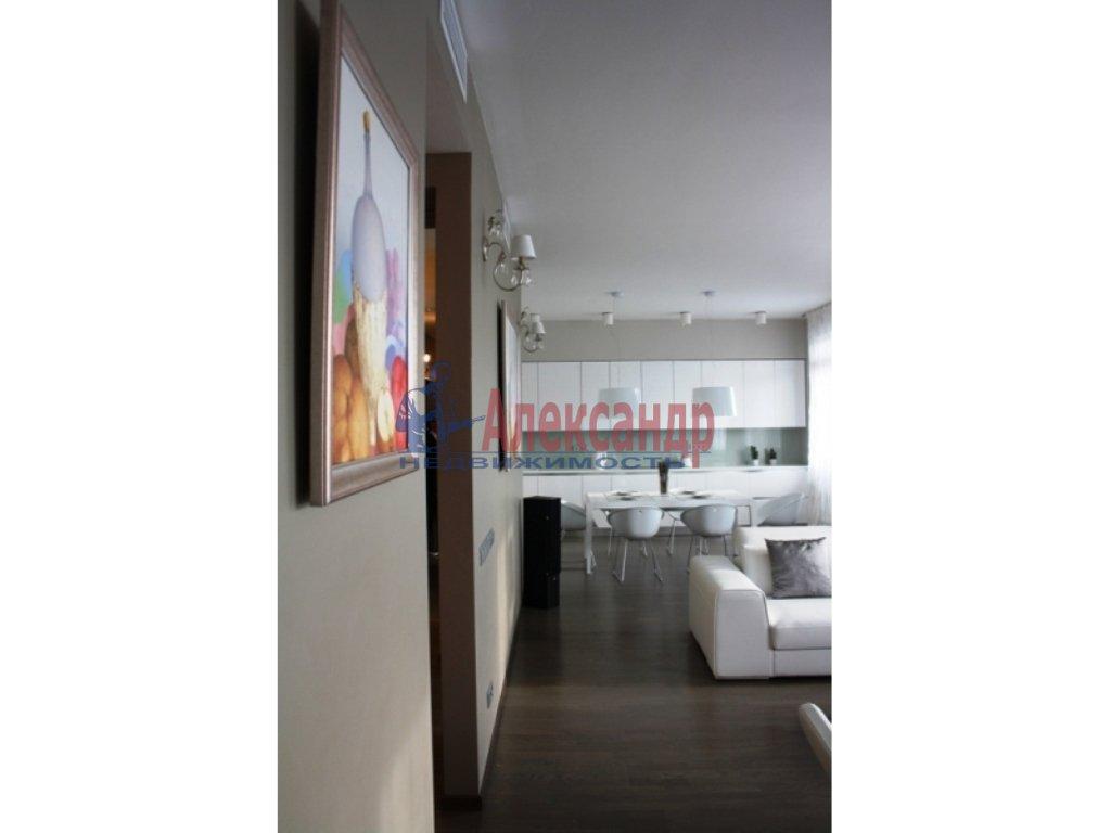 3-комнатная квартира (112м2) в аренду по адресу Каменноостровский пр.— фото 10 из 20