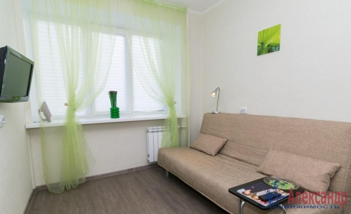 1-комнатная квартира (35м2) в аренду по адресу Композиторов ул., 2— фото 1 из 3