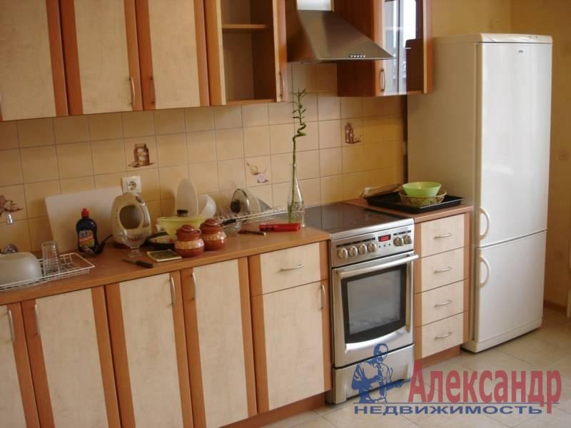 1-комнатная квартира (38м2) в аренду по адресу Науки пр., 12— фото 7 из 7