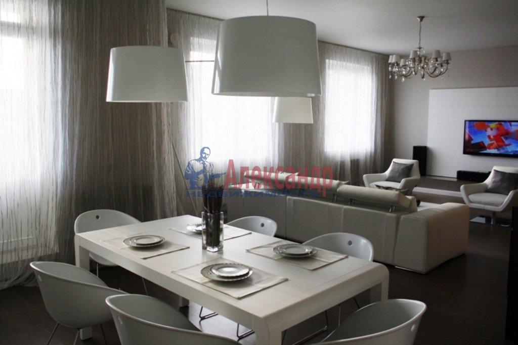 3-комнатная квартира (112м2) в аренду по адресу Каменноостровский пр.— фото 14 из 20