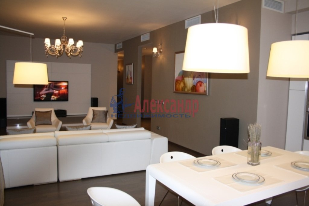 3-комнатная квартира (112м2) в аренду по адресу Каменноостровский пр.— фото 16 из 20