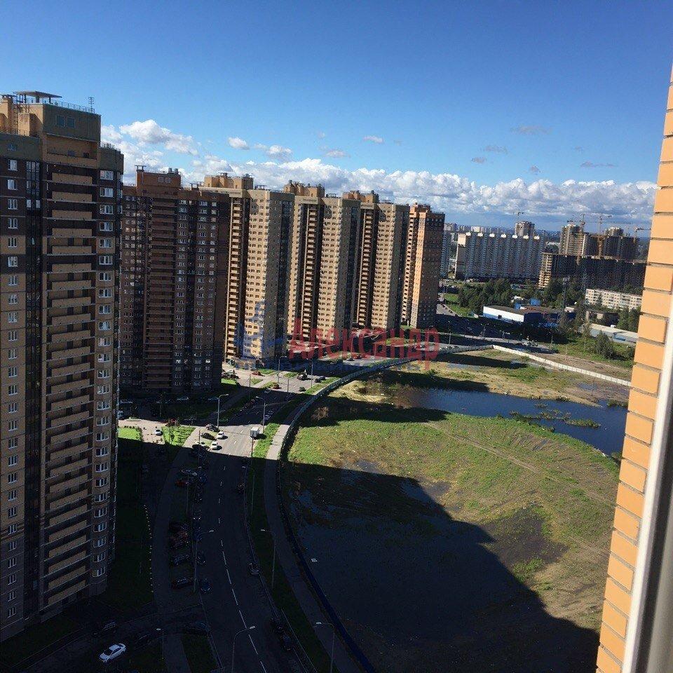 1-комнатная квартира (42м2) в аренду по адресу Парголово пос., Николая Рубцова ул., 11— фото 12 из 15