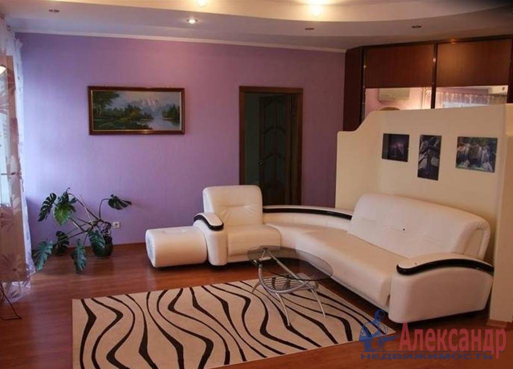 1-комнатная квартира (45м2) в аренду по адресу Наставников пр., 36— фото 1 из 2