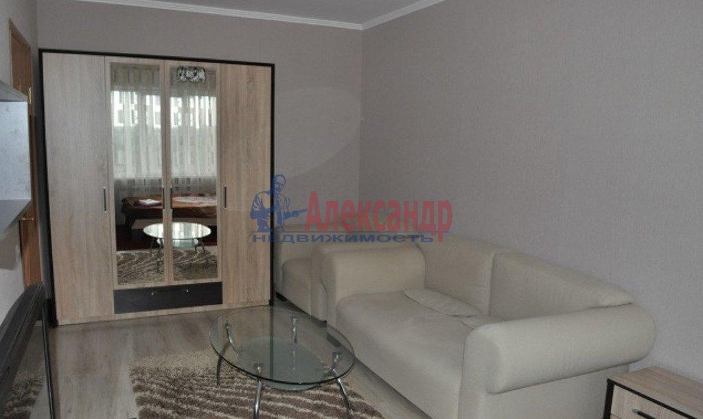 1-комнатная квартира (50м2) в аренду по адресу Большевиков пр., 47— фото 2 из 3