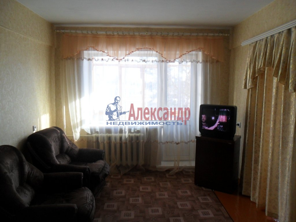 1-комнатная квартира (45м2) в аренду по адресу Богатырский пр., 50— фото 1 из 1