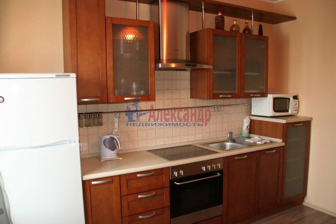 1-комнатная квартира (37м2) в аренду по адресу Парголово пос., Федора Абрамова ул., 18— фото 2 из 3