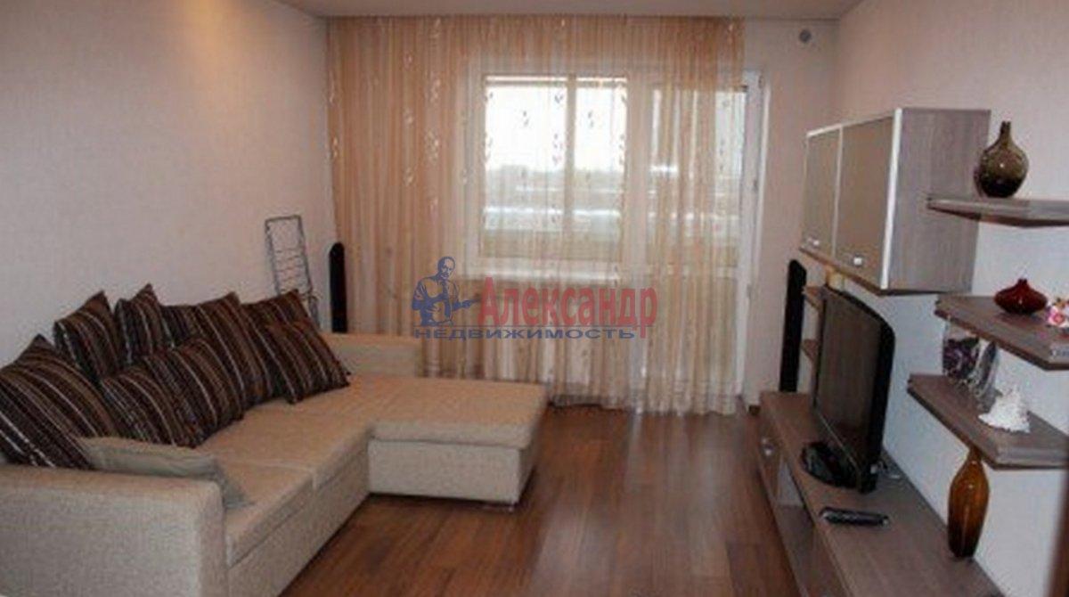 1-комнатная квартира (43м2) в аренду по адресу Ярославский пр., 66— фото 1 из 3