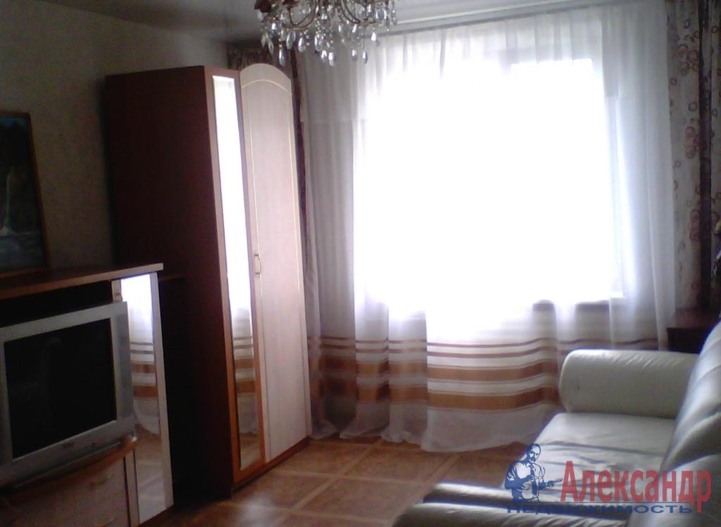 1-комнатная квартира (40м2) в аренду по адресу Московский просп., 73— фото 1 из 3