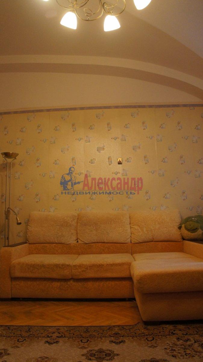 1-комнатная квартира (40м2) в аренду по адресу Барочная ул., 12— фото 3 из 3