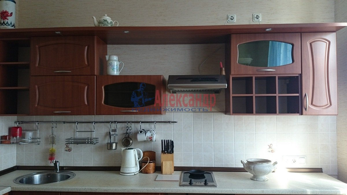 1-комнатная квартира (52м2) в аренду по адресу Малоохтинский пр., 16— фото 2 из 8