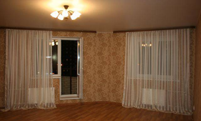 1-комнатная квартира (36м2) в аренду по адресу Ленинский пр., 82— фото 2 из 4