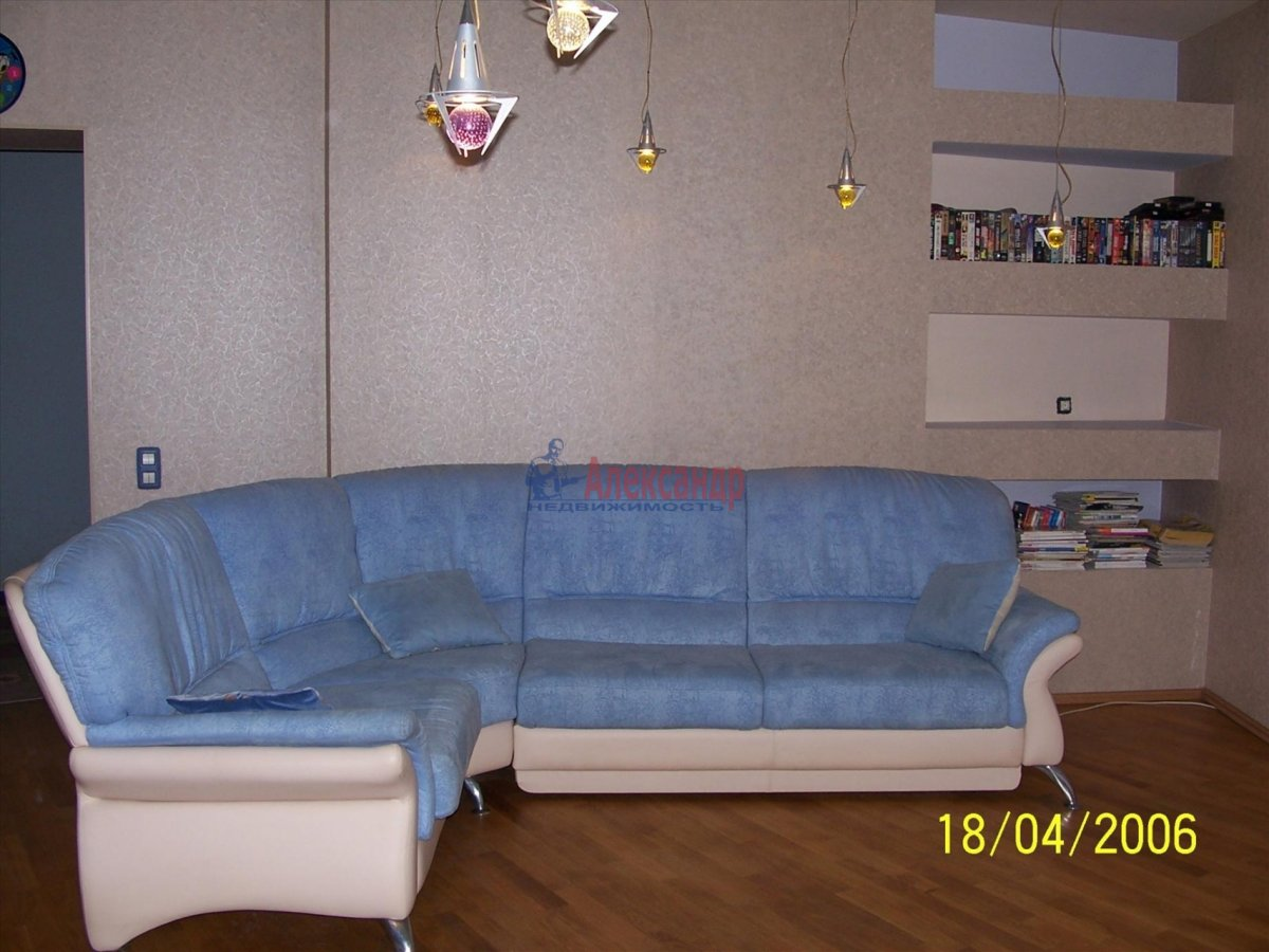 3-комнатная квартира (105м2) в аренду по адресу Тульская ул., 9— фото 4 из 14