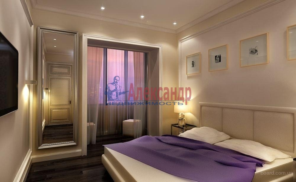 1-комнатная квартира (42м2) в аренду по адресу Чудновского ул., 6— фото 2 из 2