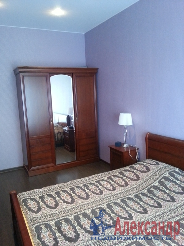 3-комнатная квартира (90м2) в аренду по адресу Петергофское шос., 57— фото 5 из 10