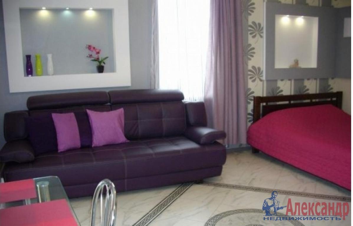 1-комнатная квартира (43м2) в аренду по адресу Приморский пр., 137— фото 1 из 2