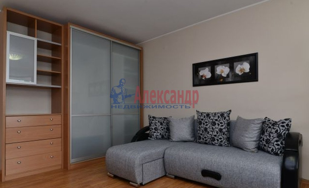2-комнатная квартира (57м2) в аренду по адресу Луначарского пр., 11— фото 1 из 4