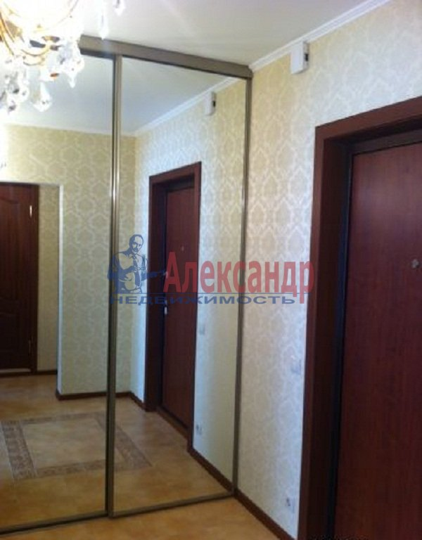 1-комнатная квартира (37м2) в аренду по адресу Комендантский пр., 14— фото 7 из 7