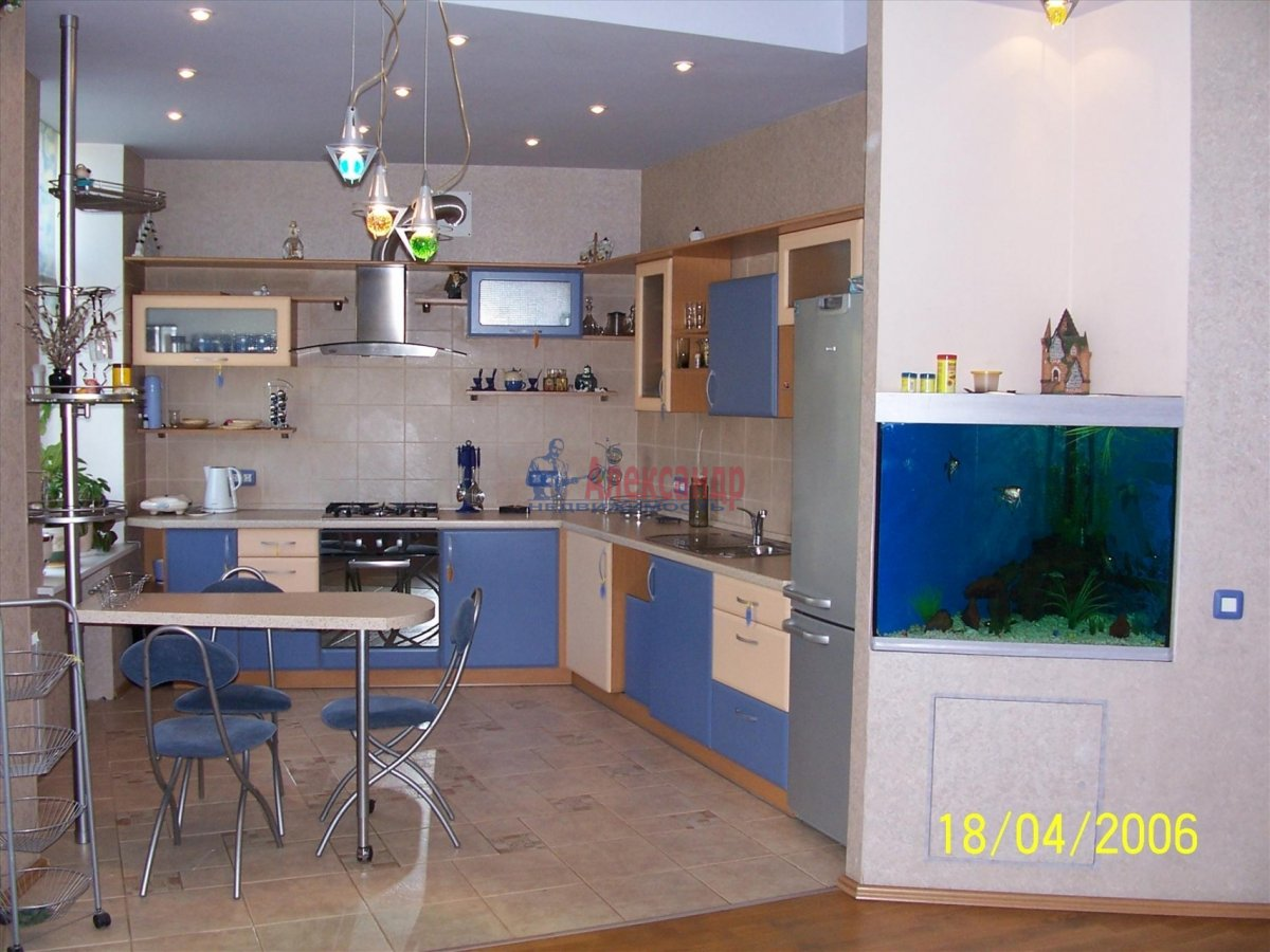 3-комнатная квартира (105м2) в аренду по адресу Тульская ул., 9— фото 1 из 14