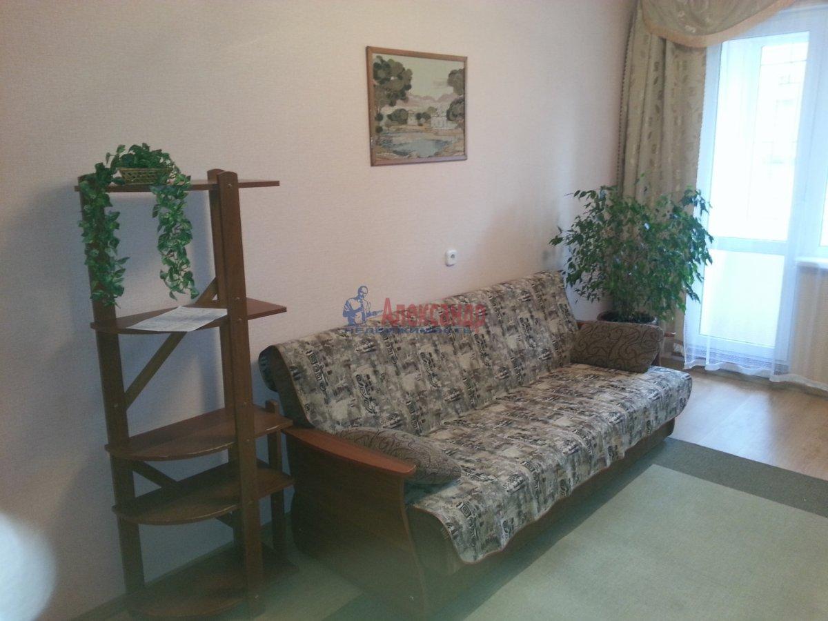 1-комнатная квартира (41м2) в аренду по адресу Авиаконструкторов пр., 34— фото 17 из 24