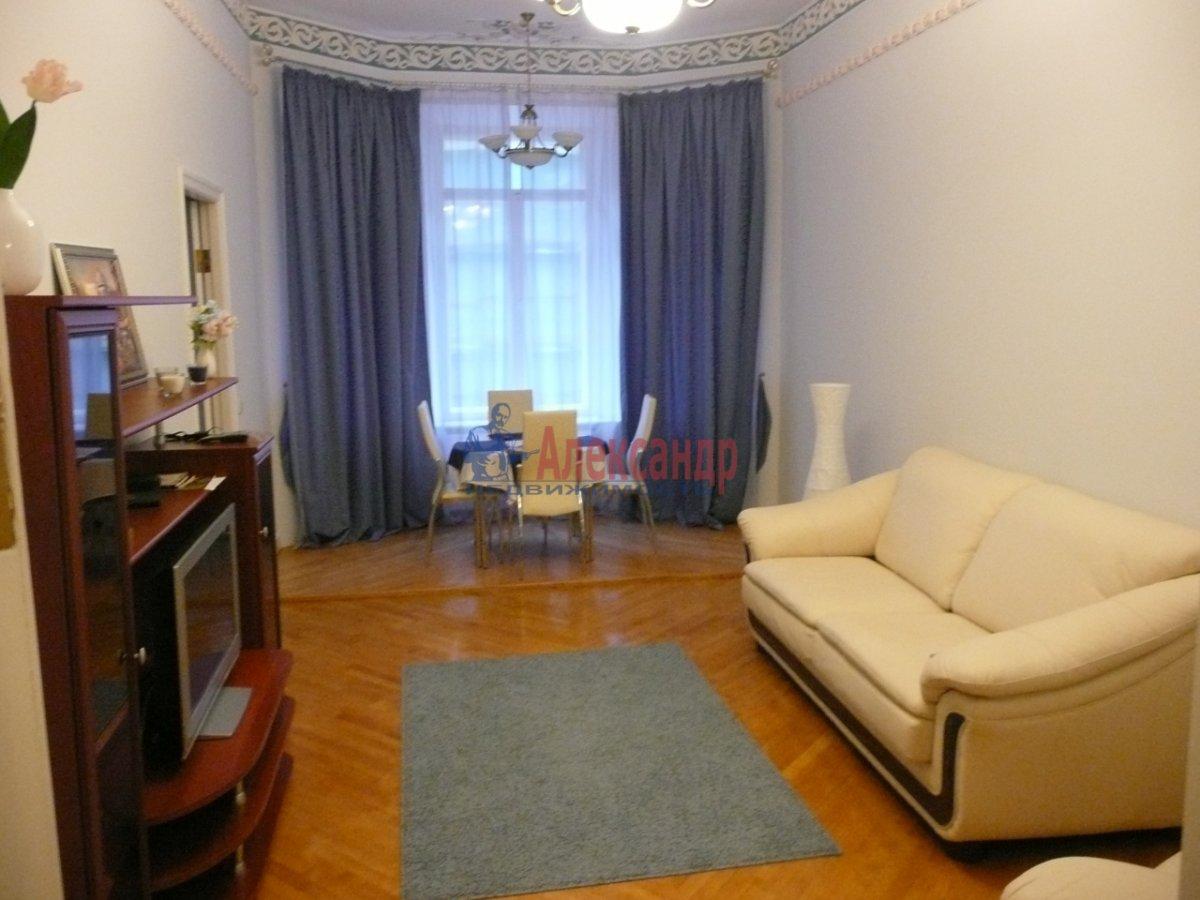 2-комнатная квартира (67м2) в аренду по адресу Большая Конюшенная ул., 19— фото 1 из 7