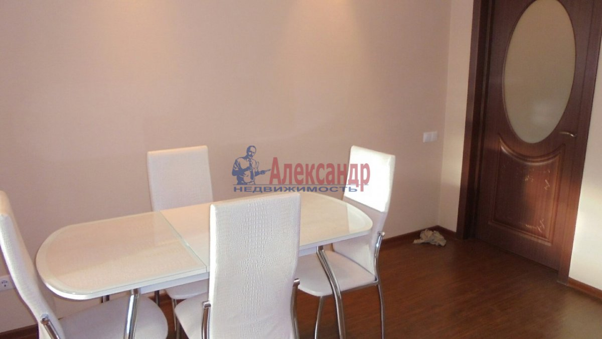 1-комнатная квартира (42м2) в аренду по адресу Выборгское шос., 23— фото 3 из 7