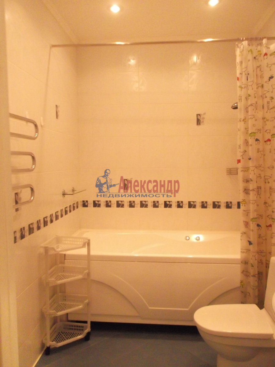 1-комнатная квартира (39м2) в аренду по адресу Дерптский пер., 14— фото 3 из 3