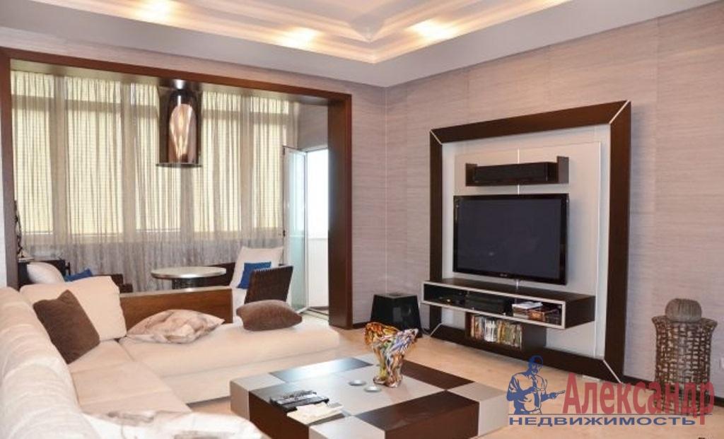 2-комнатная квартира (65м2) в аренду по адресу Обуховской Обороны пр., 138— фото 1 из 2