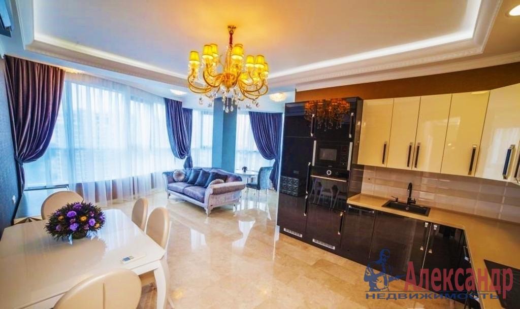 3-комнатная квартира (157м2) в аренду по адресу Воскресенская наб., 4— фото 1 из 3