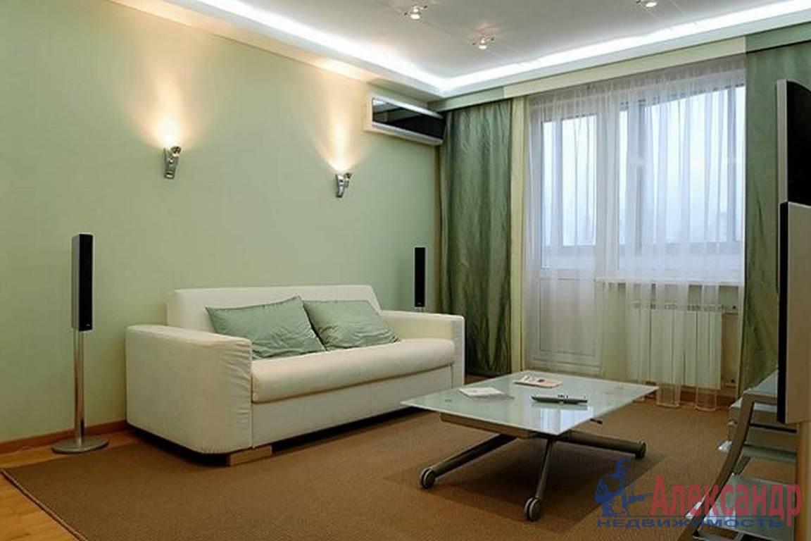 1-комнатная квартира (45м2) в аренду по адресу Михаила Дудина ул., 23— фото 1 из 3