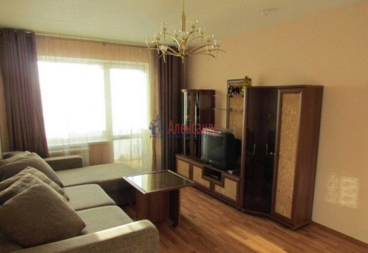 1-комнатная квартира (40м2) в аренду по адресу Кораблестроителей ул.— фото 1 из 3