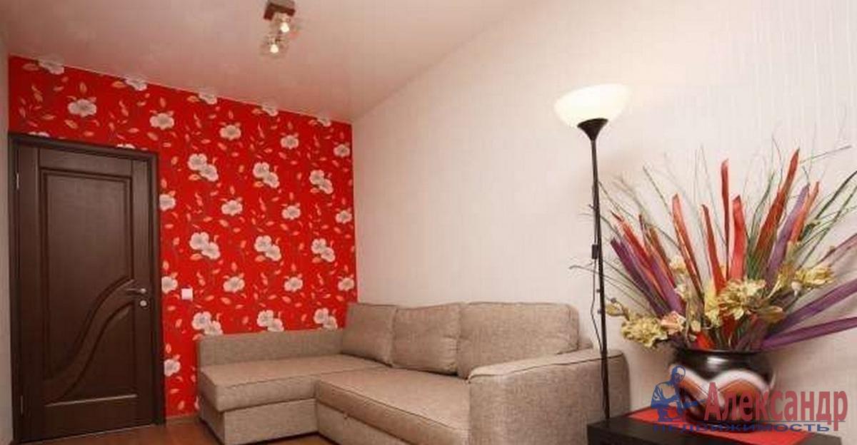 1-комнатная квартира (42м2) в аренду по адресу Ленинский пр., 55— фото 1 из 3