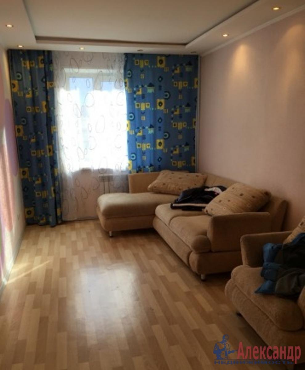 1-комнатная квартира (40м2) в аренду по адресу Парголово пос., 3 Верхний пер., 25— фото 1 из 3