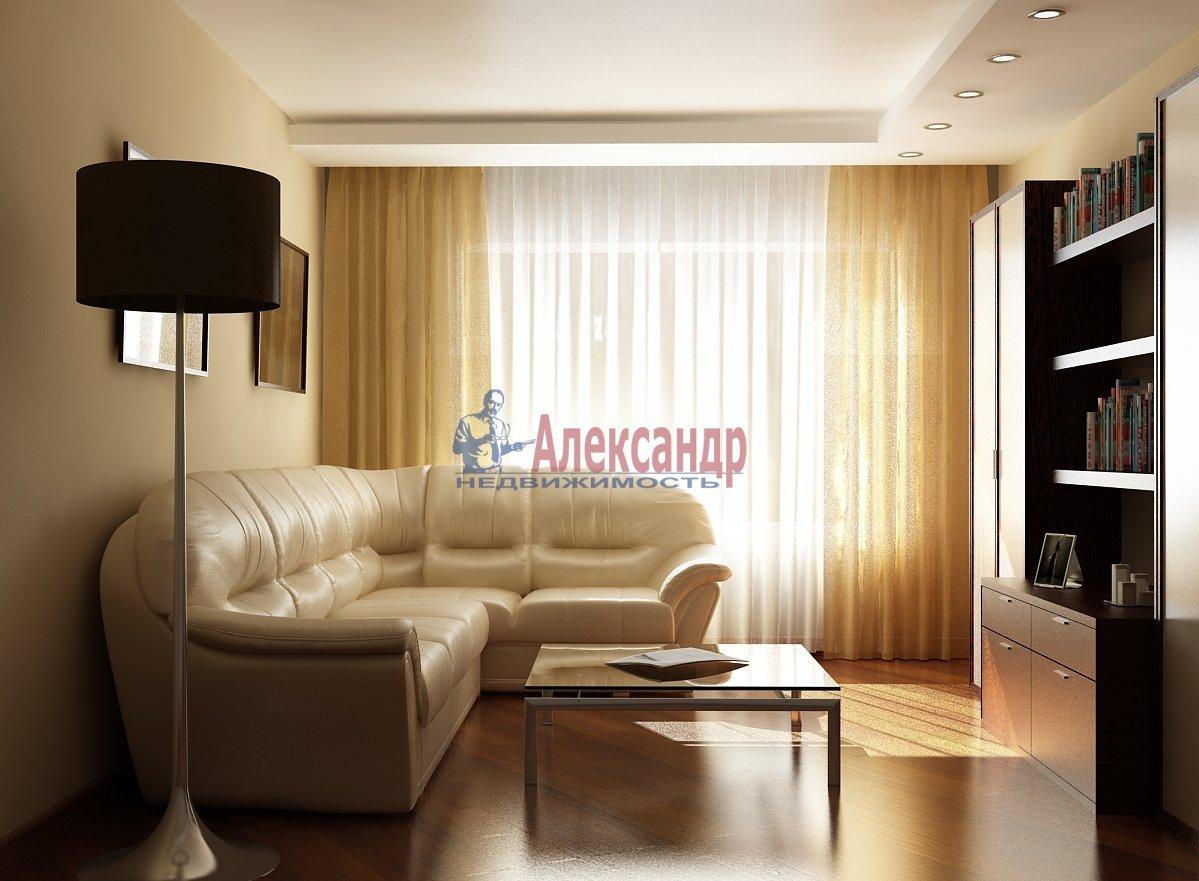 Комната в 3-комнатной квартире (101м2) в аренду по адресу Савушкина ул., 77— фото 1 из 2