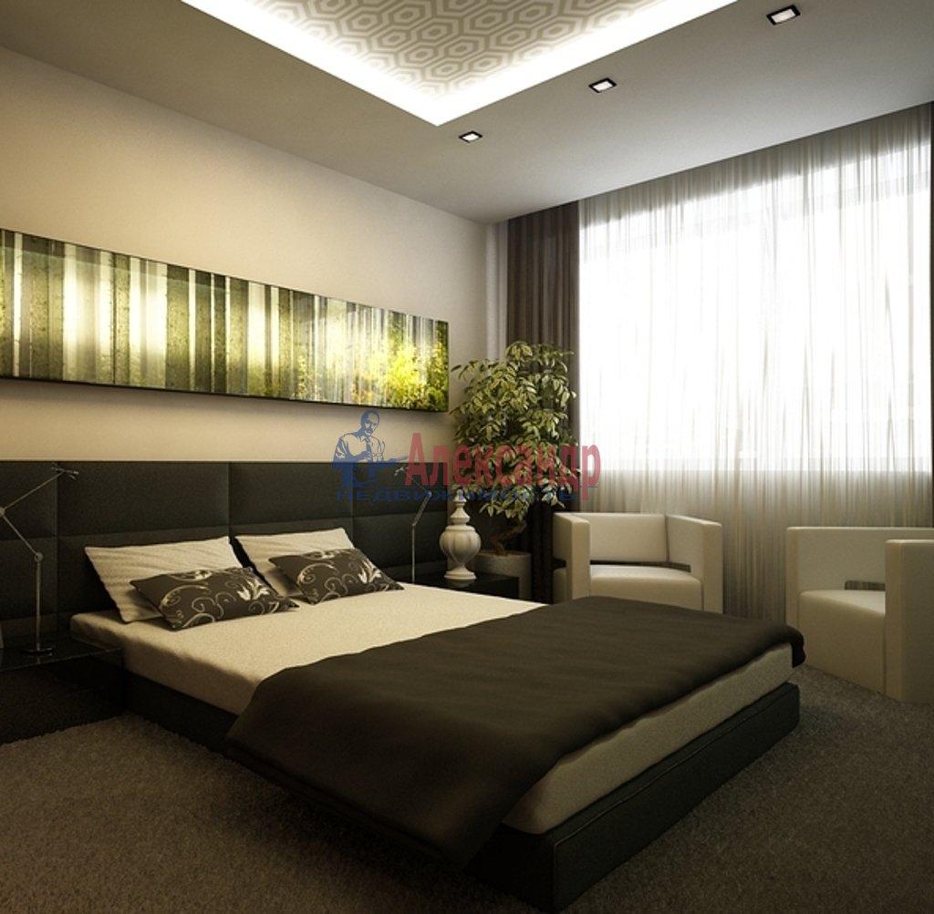 4-комнатная квартира (150м2) в аренду по адресу Новгородская ул., 23— фото 2 из 4