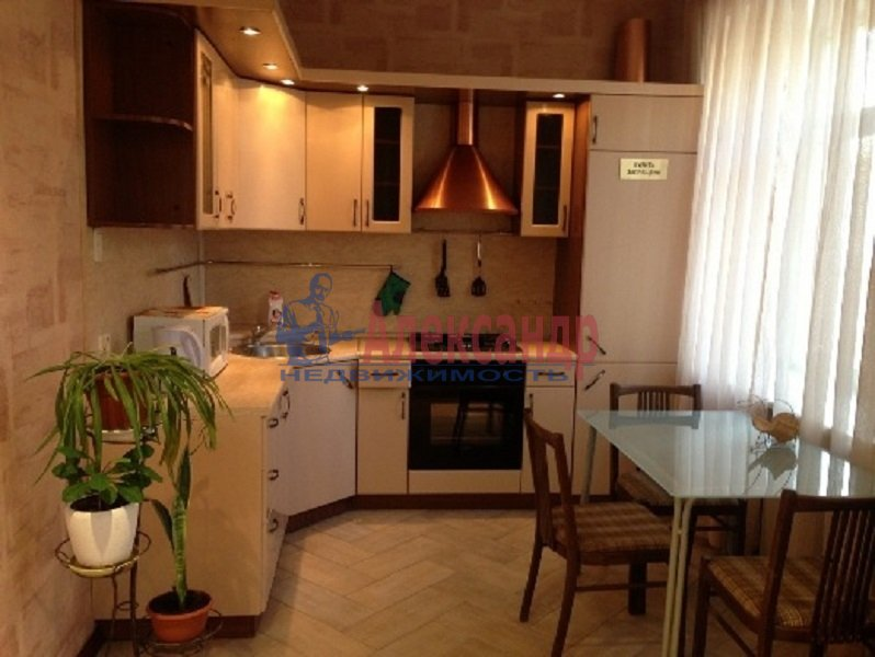 1-комнатная квартира (45м2) в аренду по адресу Московский просп., 206— фото 1 из 4