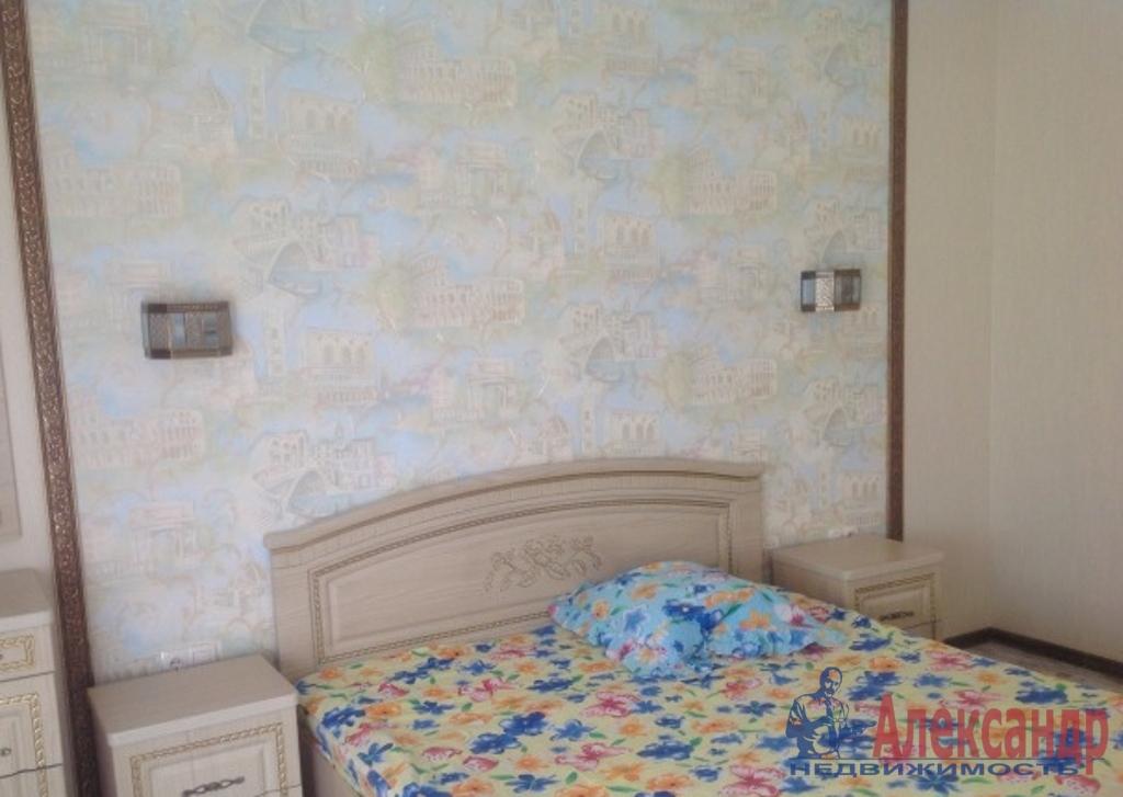 3-комнатная квартира (91м2) в аренду по адресу Кудрово дер., Немецкая ул., 3— фото 2 из 3