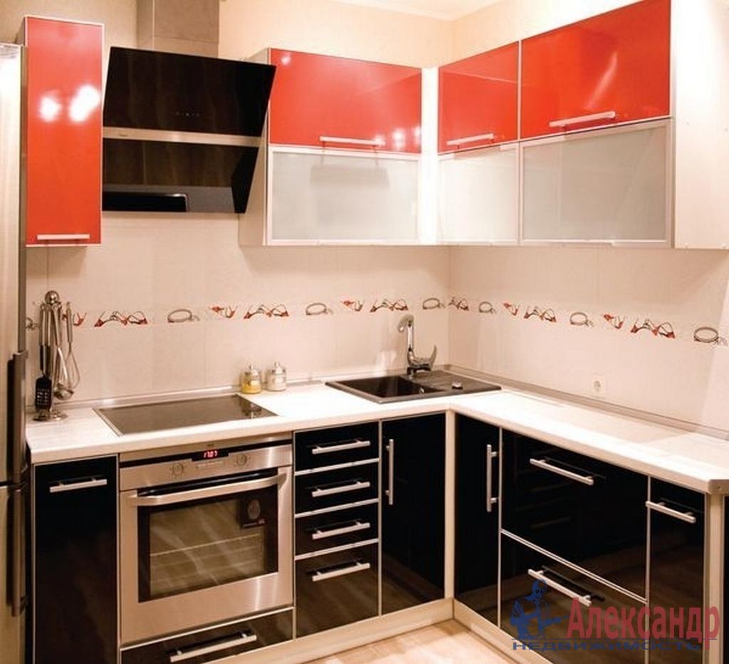 1-комнатная квартира (43м2) в аренду по адресу Коломяжский пр., 26— фото 2 из 2
