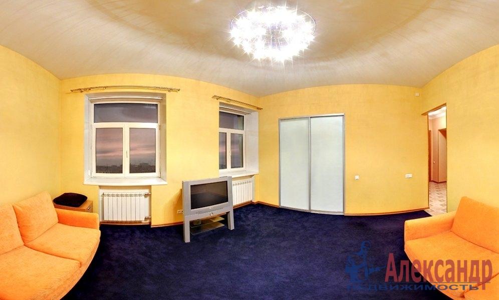 1-комнатная квартира (40м2) в аренду по адресу Островского пл., 9— фото 3 из 4