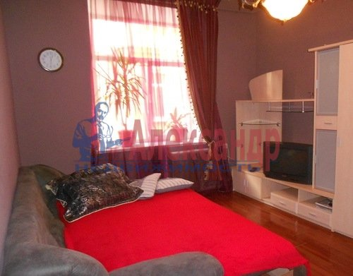 Комната в 2-комнатной квартире (62м2) в аренду по адресу Рубинштейна ул., 11— фото 2 из 4