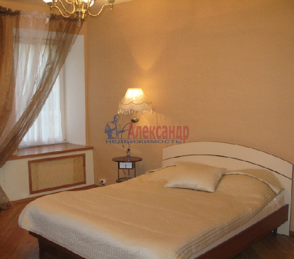 3-комнатная квартира (85м2) в аренду по адресу Кропоткина ул., 19— фото 2 из 5