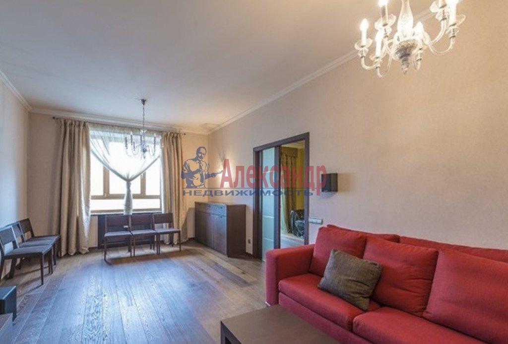 3-комнатная квартира (118м2) в аренду по адресу Республиканская ул., 6— фото 1 из 4