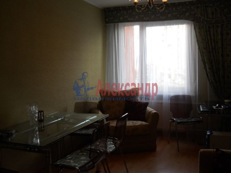 1-комнатная квартира (36м2) в аренду по адресу Просвещения пр., 15— фото 2 из 2