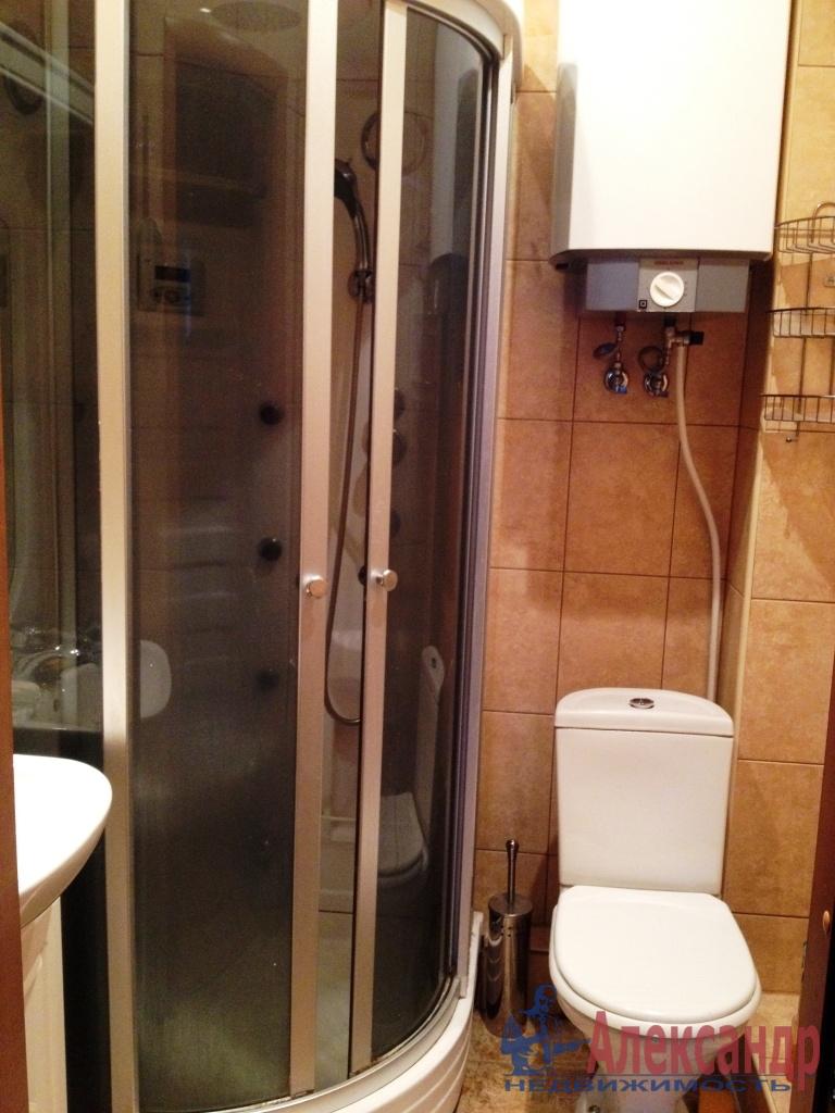 1-комнатная квартира (45м2) в аренду по адресу Народного Ополчения пр., 10— фото 4 из 5