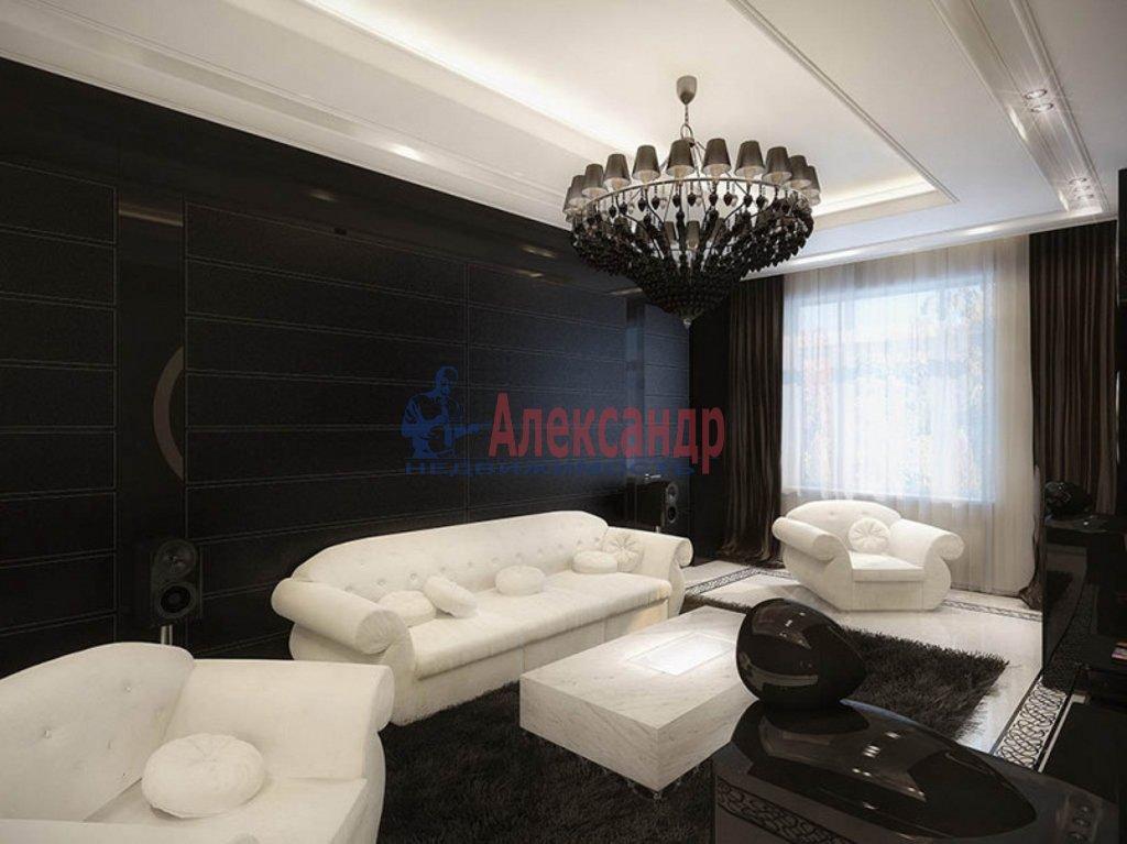 2-комнатная квартира (95м2) в аренду по адресу Морской пр., 28— фото 1 из 3