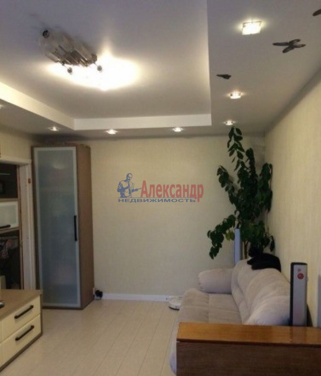 2-комнатная квартира (50м2) в аренду по адресу Ленинский пр., 176— фото 3 из 9