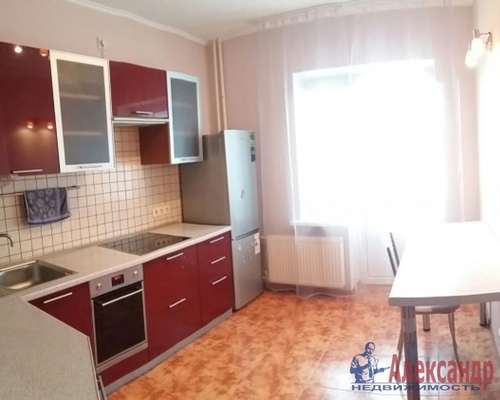 1-комнатная квартира (41м2) в аренду по адресу Доблести ул., 28— фото 2 из 2
